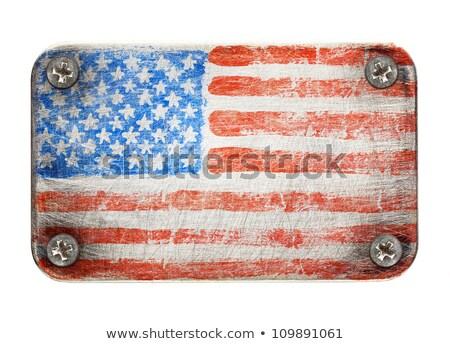 Rusty USA Stock photo © idesign