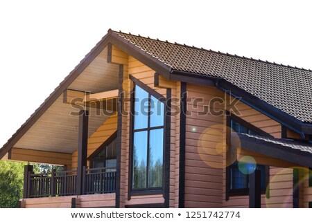 Dachu - domu - balkon - krzesla - poduszki - piekna - zdjeci.