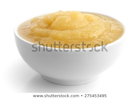 чаши яблоко соус Spice белый Сток-фото © Digifoodstock