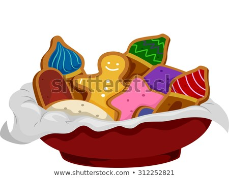 Onion Dome Shaped Gingerbread Stock photo © lenm