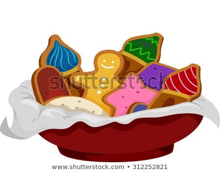 タマネギ ドーム ジンジャーブレッド 実例 クッキー ストックフォト © lenm