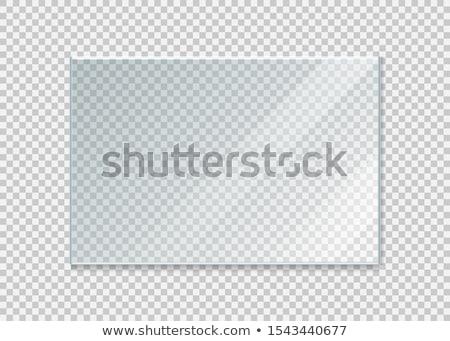 стекла текстуры отражение крупным планом Сток-фото © ldambies