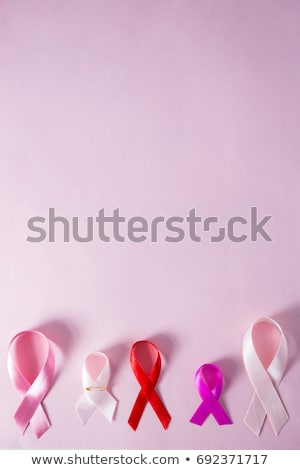 Directly above view of various awareness ribbons Stock photo © wavebreak_media