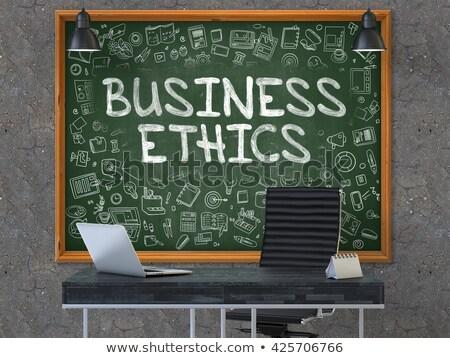 działalności · etyka · streszczenie · projektu · korporacyjnych · sukces - zdjęcia stock © tashatuvango