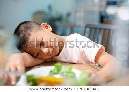 erkek · plaka · gıda · sağlıklı · gıda - stok fotoğraf © is2