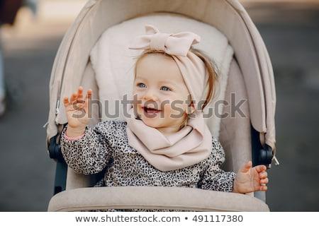 Bébé parc automne enfants visage heureux Photo stock © vladacanon