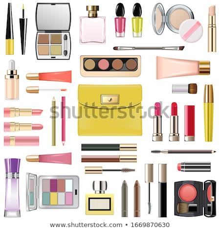 Vector Fashion Handbag with Makeup Cosmetics Stock photo © dashadima
