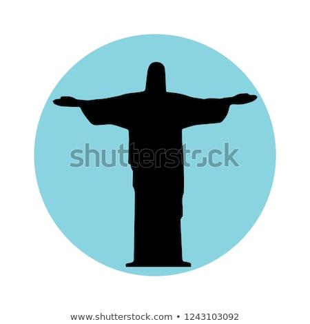 Stok fotoğraf: Mesih · heykel · önemli · hıristiyanlar · dini · insanlar