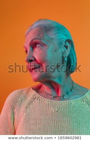 bom · branco · azul · roupa - foto stock © acidgrey