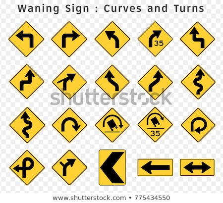 Directional Arrows Road Sign Stock photo © make