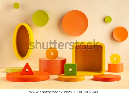 Set of different scene objects Stock photo © bluering