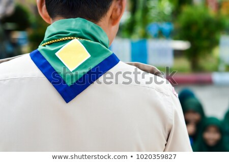 Boy scouts concept icons Stock photo © netkov1