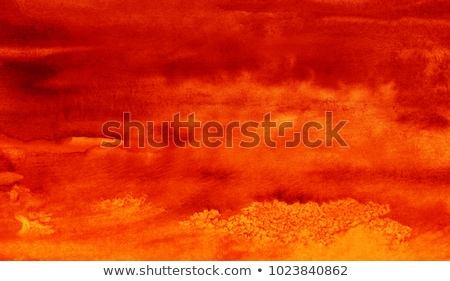 Abstract orange and red watercolor background Stock photo © ConceptCafe
