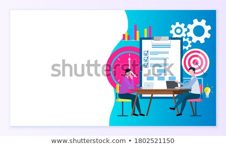 Implementing Business Solution Workplace Website Stock photo © robuart