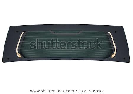 ısıtma otomotiv cam ikon beyaz araba Stok fotoğraf © smoki