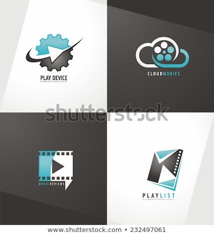 gear and cloud logo concept background Stock photo © SArts