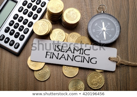 Islamic Finance or Banking. Stock photo © olivier_le_moal