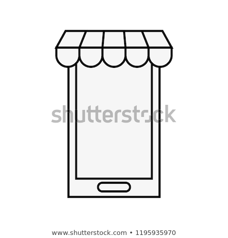 Armazenar virtual compras on-line mão telefone tecnologia Foto stock © yupiramos