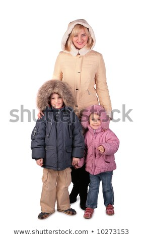 Middleaged woman with kid 3 Stock photo © Paha_L