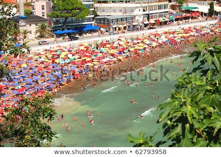 Stock fotó: Kicsi · tengerpart · Montenegró · augusztus · 12 · város