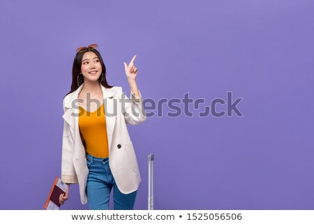 Young woman excited to go on vacation Stock photo © photography33