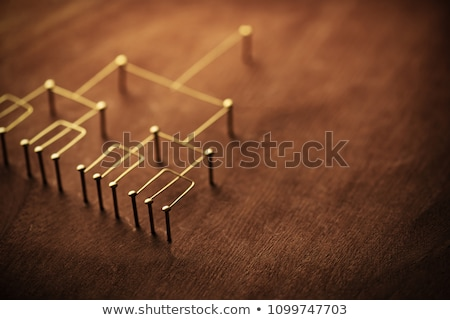 Rank of nails  Stock photo © jakgree_inkliang