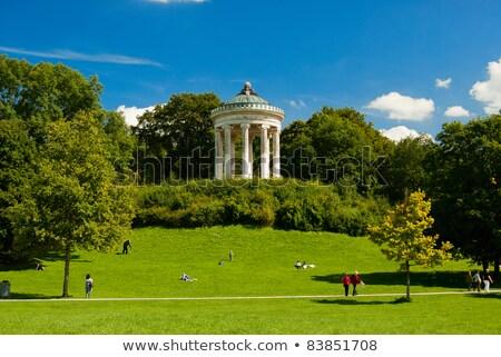 английский саду Мюнхен Германия внутри весны Сток-фото © haraldmuc