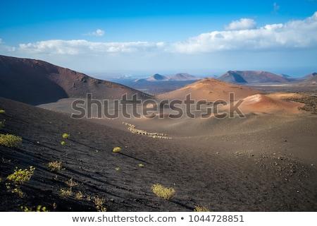 огня гор вулканический лава парка каменные Сток-фото © lunamarina
