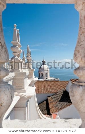 Lisboa · típico · ropa · colgante · Portugal - foto stock © tannjuska