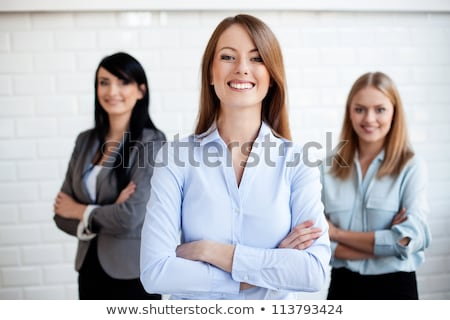 Three attractive business women Stock photo © photography33