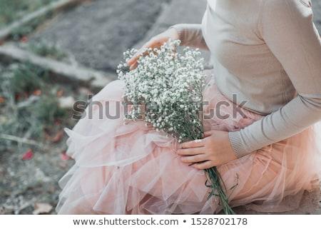 pink skirt Stock photo © dolgachov