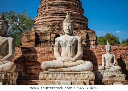 Buddha statues in  Bangkok, Thailand Stock photo © pzaxe