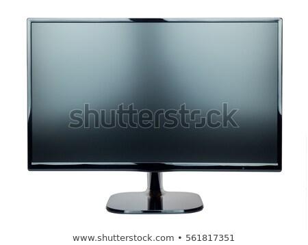 Thin led TV isolated Stock photo © manaemedia
