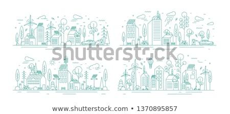 Eco City Stock photo © ankarb