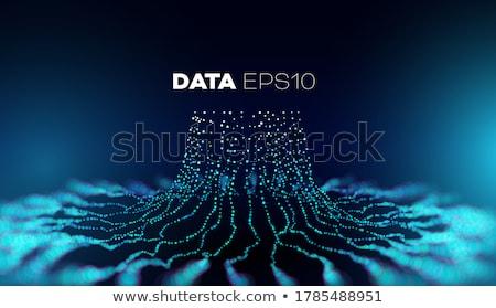 Abstract hightech background. Stock photo © OlgaYakovenko