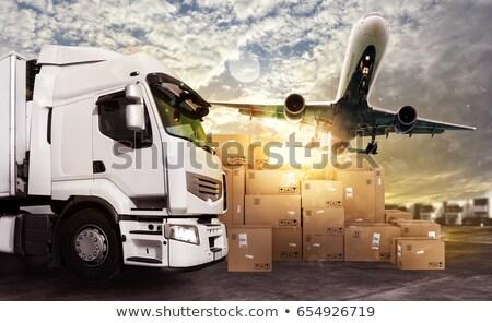 Breekbaar een pack papier item pakket Stockfoto © jarp17