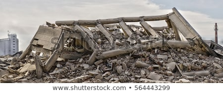 collapsed building stock photo © jarp17