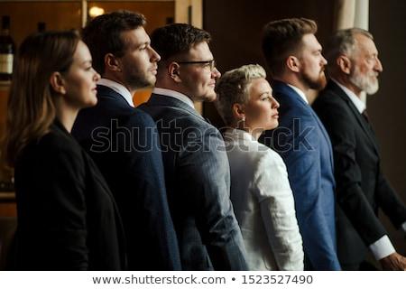肖像 幸せ ビジネスマン チーム オフィス 少女 ストックフォト © wavebreak_media