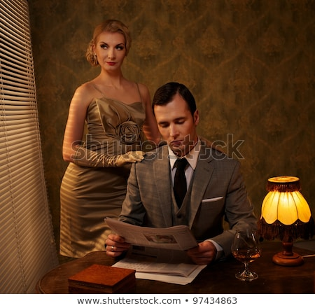 mode · femme · luxe · intérieur · mode · résumé - photo stock © amok