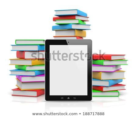 впереди книгах иллюстрация школы Сток-фото © make