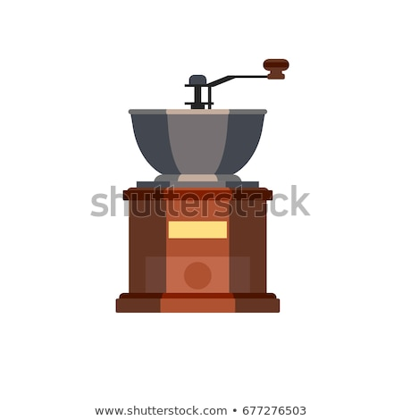 Antique coffee grinder Stock photo © feelphotoart