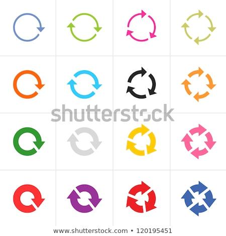 new collection green circular vector button stock photo © rizwanali3d
