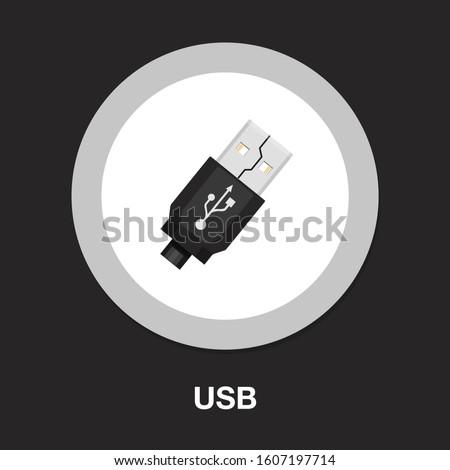 красный · usb · флэш-накопитель · белый · фон · ключевые - Сток-фото © ozaiachin