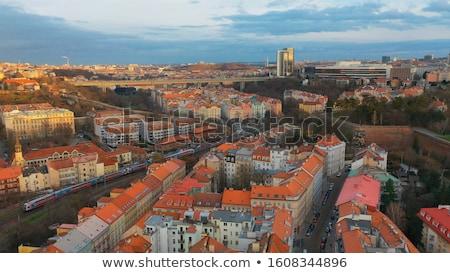 Stok fotoğraf: Prag · binalar · eski · Çek · Cumhuriyeti · Retro