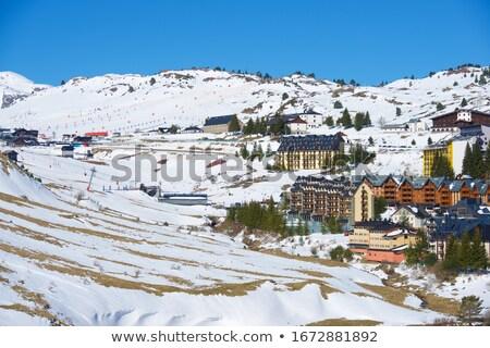 paisagem · montanhas · belo · montanha · férias · caminhadas - foto stock © lunamarina
