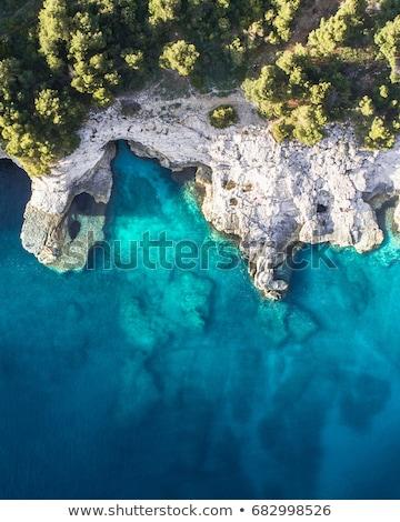 синий морем Хорватия идиллический небе природы Сток-фото © Johny87
