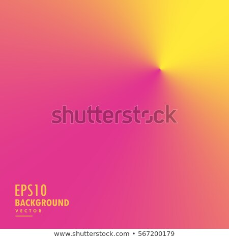 minimal pink and yellow conical gradient background Stock photo © SArts