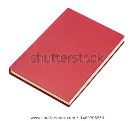 Chiuso libro isolato vecchio volume bianco Foto d'archivio © MaryValery