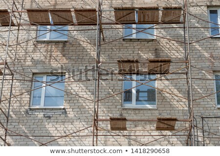 Architecture design for three storey building Stock photo © bluering