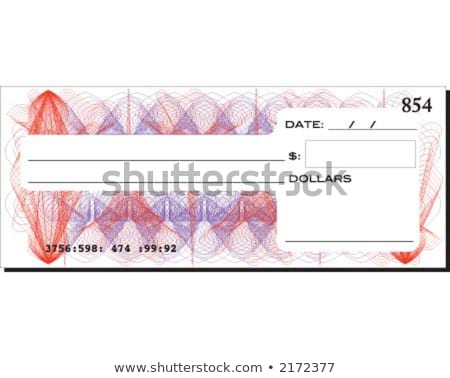 Generic Blank Bank Notes Stock photo © albund